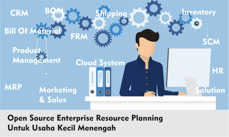 Open Source Enterprise Resource Planning Indonesia UKM