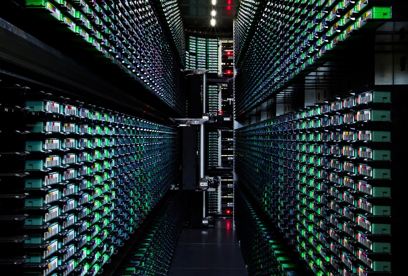 Teknologi  Google Data Center